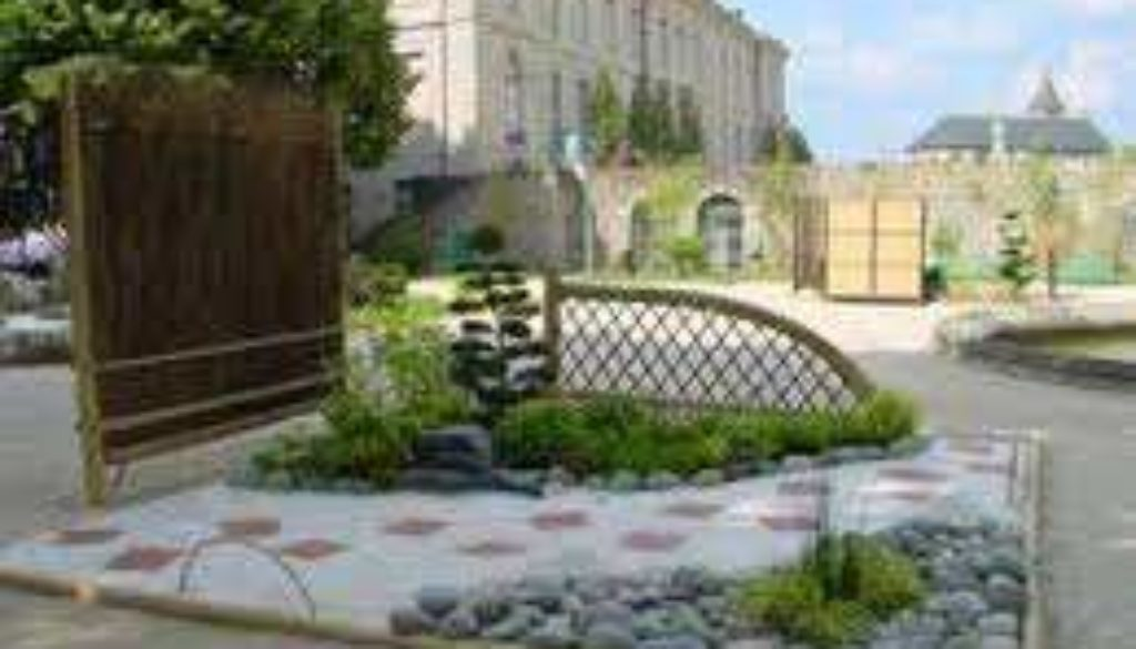 jardin revetu