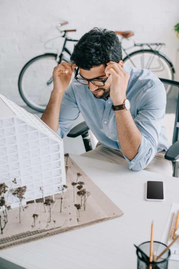 Créer un site web pour une entreprise d'architecture