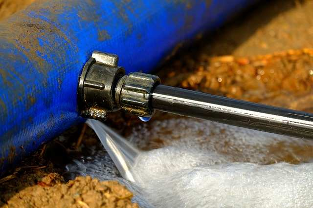 Comment réparer une fuite d'eau ?